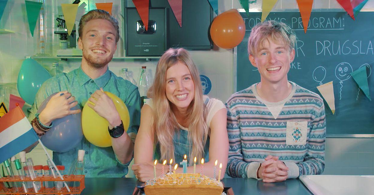 Afbeelding van Drugslab - Nellie, Rens en Bastiaan feesten met spacecake