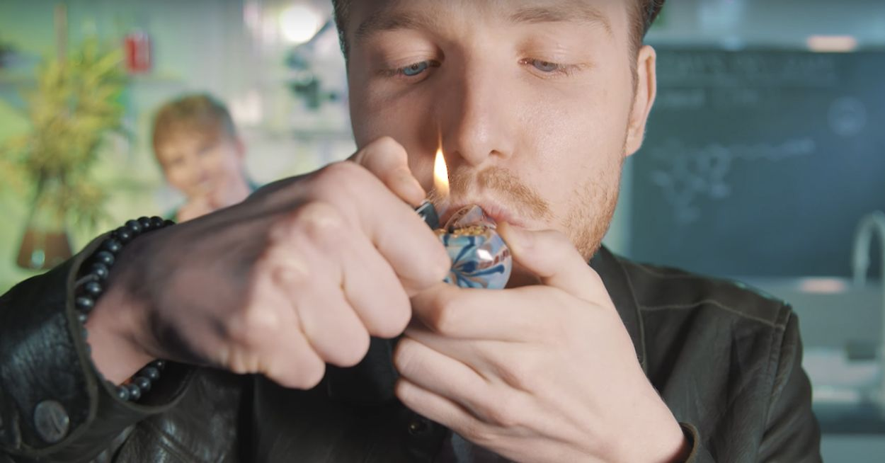 Afbeelding van Drugslab - Bastiaan rookt wiet