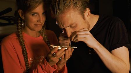 Afbeelding van Bastiaan gebruikt Speed in een club | Drugslab