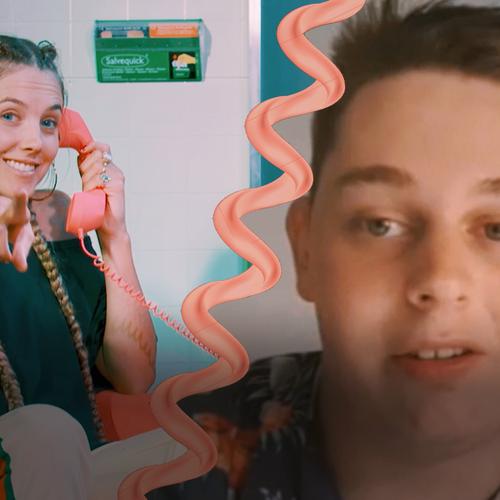 Afbeelding van Kevin vertelt over zijn LSD trip - Trip Phone | Drugslab